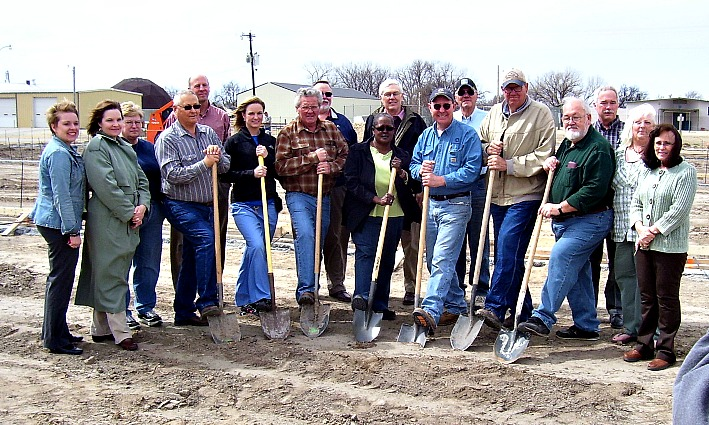 Stockton Estates groundbreaking