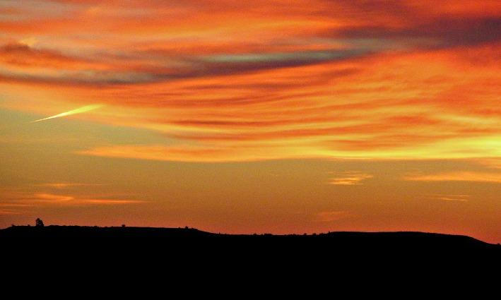 Twin Mounds sunrise