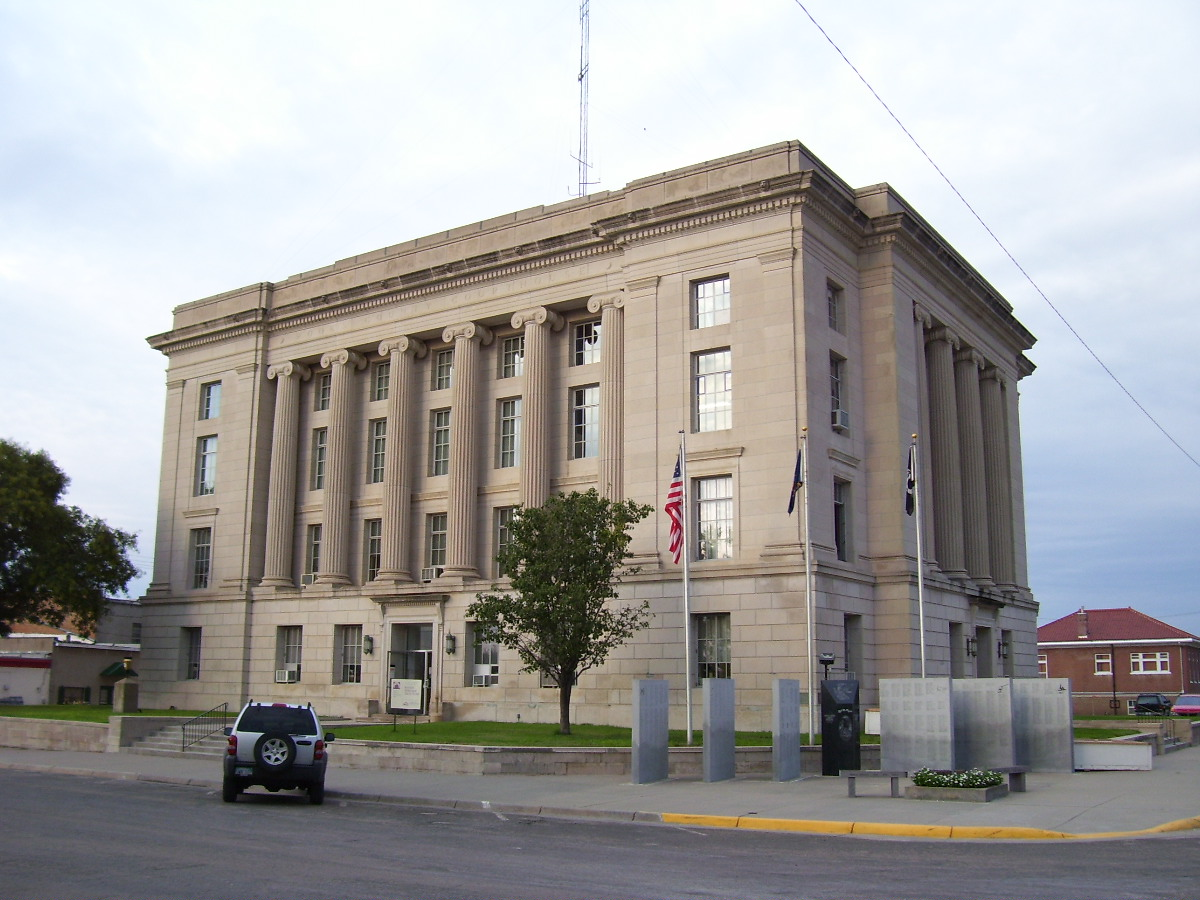 Kansas phillips county kirwin - Courthouse