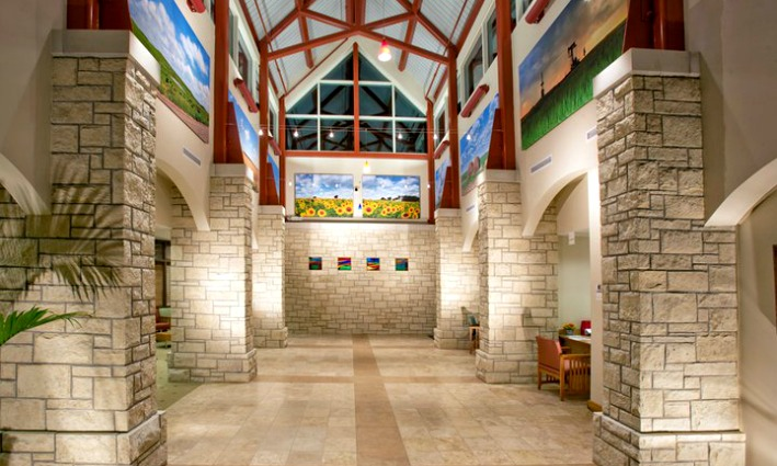 Rooks County Health Center lobby