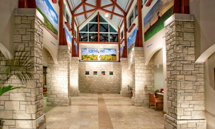 Rooks County Health Center lobby