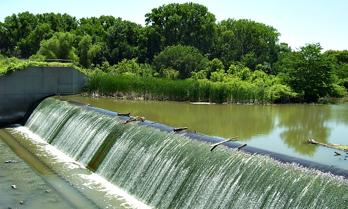 Woodston Diversion Dam