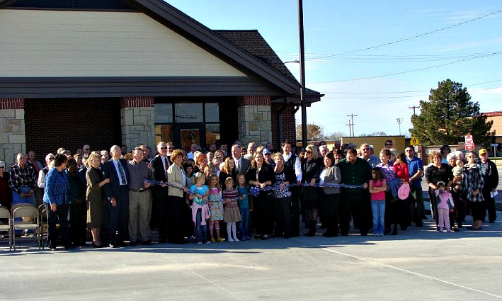 Stockton Clinic dedication